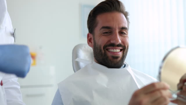 Patient at the dentist's video