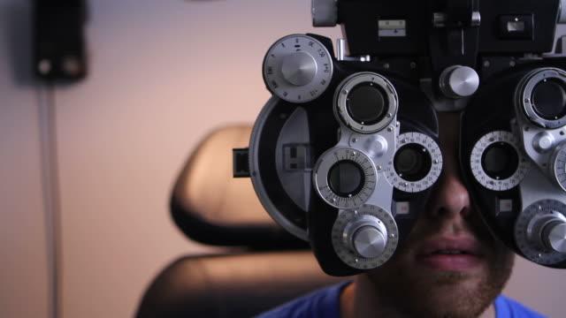 Patient at the Eye Doctor video