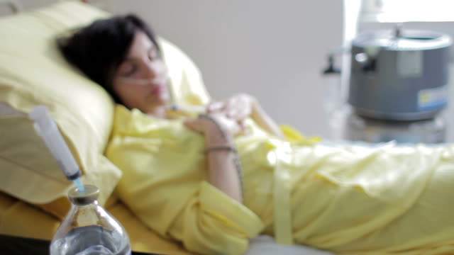 patient in hospital  praying god - lung cancer - depression video