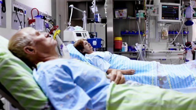 Patient is driven out  from postoperative room video
