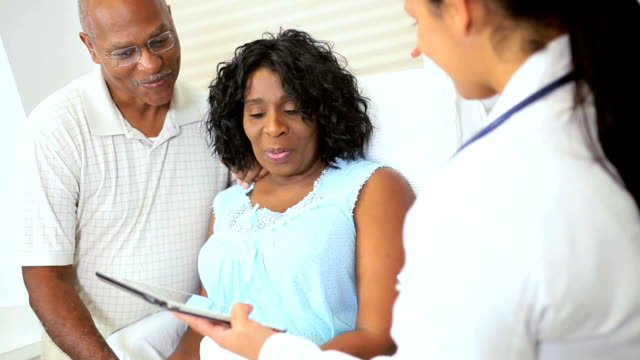 Patient Medical Care Recorded Wireless Tablet video