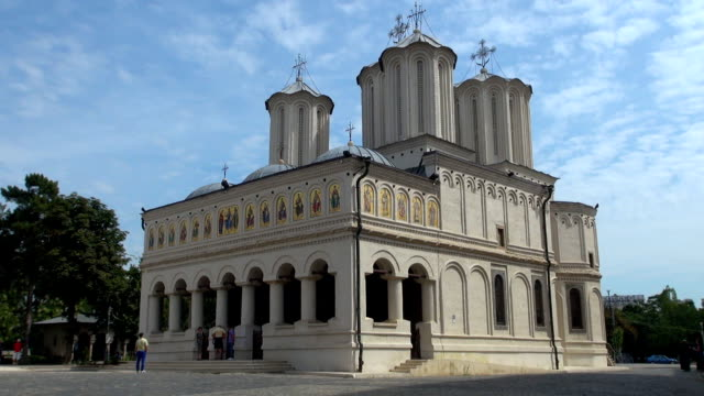Patriarchal Cathedral - Bucharest, Romania video