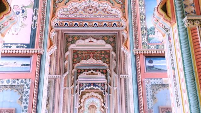 Patrika gate. The ninth gate of Jaipur, Jaipur, Rajasthan, India