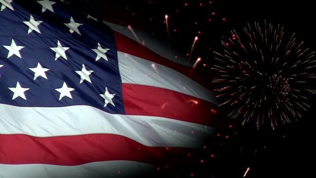 Patriotic Fireworks video