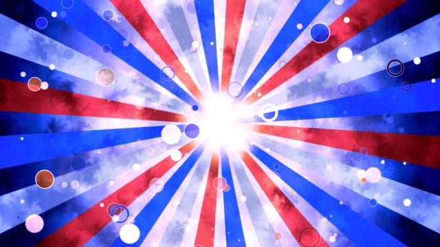 patriotic grunge sun burst - labor day stock videos and b-roll footage