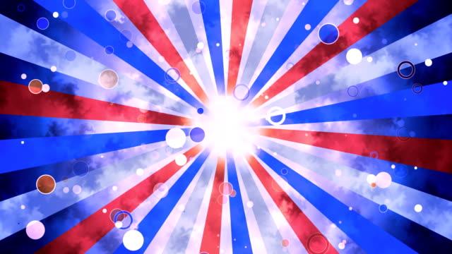 Patriotische Grunge-Sonne platzen – Video