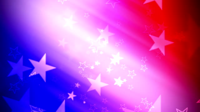 US Patriotic Stars and Colors video