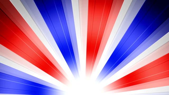 US Patriotic Sun Burst Rays video