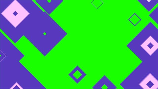 vídeos y material grabado en eventos de stock de transiciones de patrón (pantalla verde) - mosaico