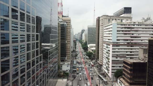 vídeos y material grabado en eventos de stock de avenida paulista en sao paulo, brasil - sudeste