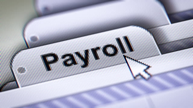 payroll - indennità video stock e b–roll