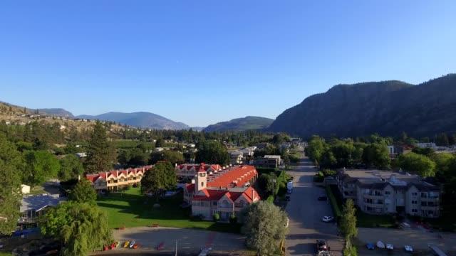 vídeos de stock, filmes e b-roll de pacífico skaha lago i okanagan valley | colúmbia britânica do canadá - região thompson okanagan colúmbia britânica