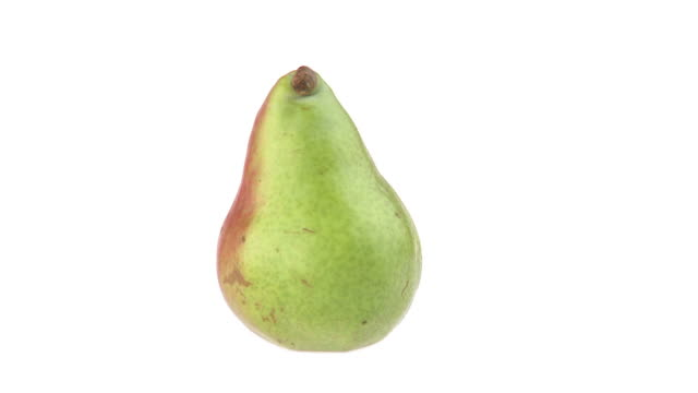 HD LOOP: Pear HD1080p: ENDLESS LOOP of a pear rotating isolated on a white background. pear stock videos & royalty-free footage