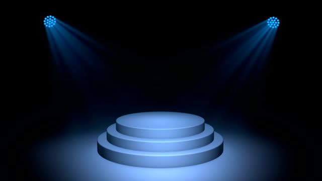 piedistallo - riflettore lenticolare video stock e b–roll