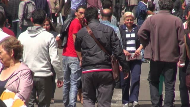Pedestrians, People Walking, Commuters video