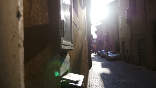 A Peek at an Ancient Street in Salo, Italy video