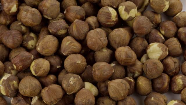 Peeled Hazelnut - 4K video video
