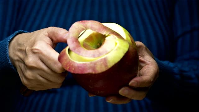 Peeling Apple video