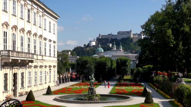 pegasus fountain - salzburg, austria - videor med salzburg bildbanksvideor och videomaterial från bakom kulisserna
