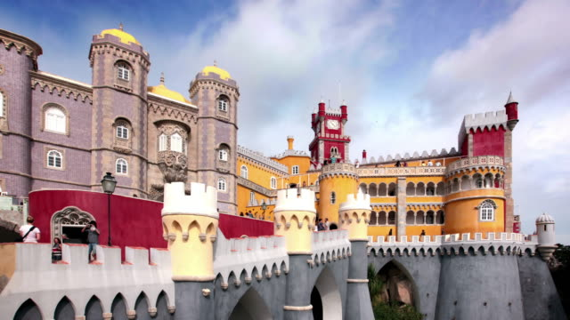Pena Palace, Lisbon, Portugal video