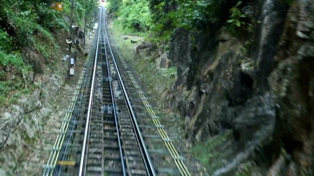 Penang Hill railway video