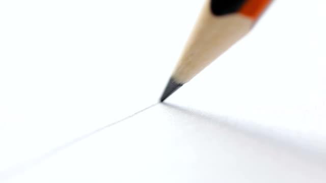 penna att göra svängning - blyertspenna bildbanksvideor och videomaterial från bakom kulisserna