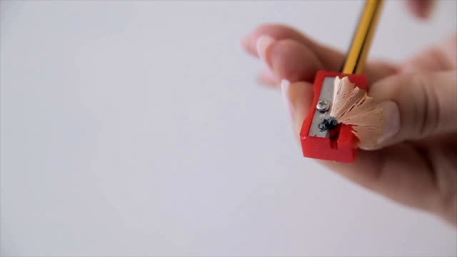 Pencil sharpener,close up