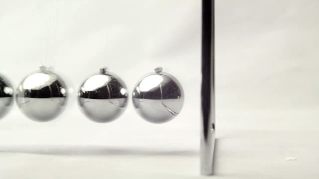 pendulum swings and marks the passage of time video