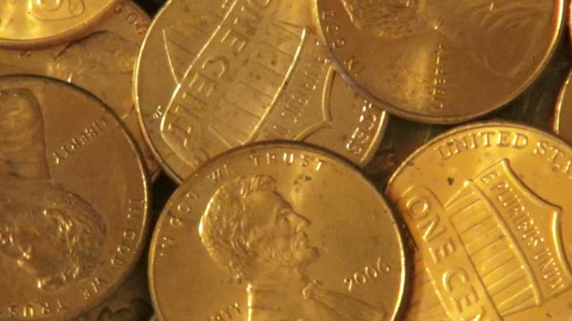 Pennies, Coins, Money, Currency video