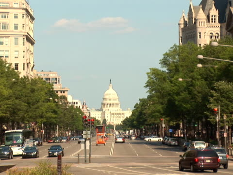 NTSC: Pennsylvania Avenue - wide video