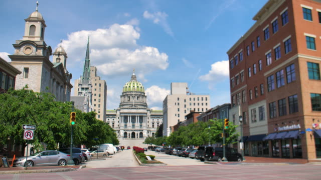 Pennsylvania State Capitol City of Harrisburg