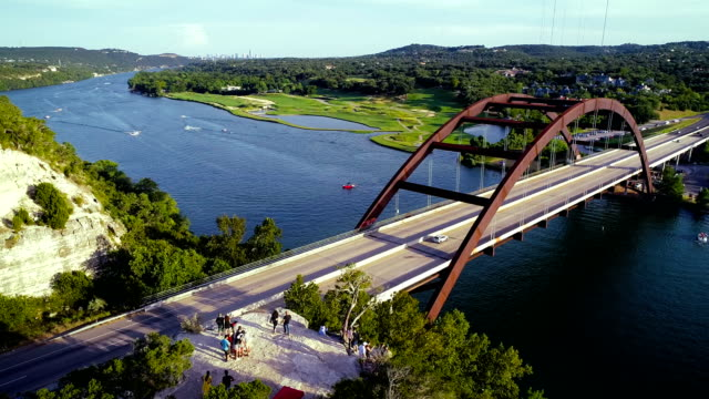 pennybacker bridge of Austin , Texas