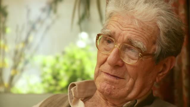 HD: Pensive Senior Man video