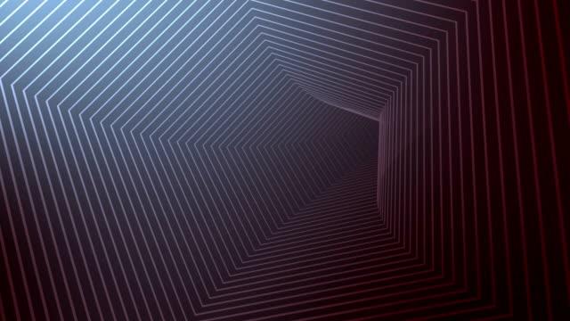 Pentagon Tunnel Background 4K video