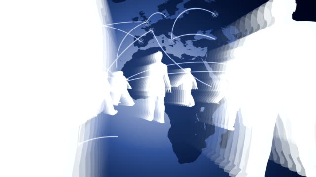 People and Global Networking video