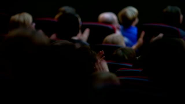People applauding video