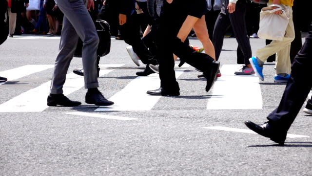 People crossing Shibuya