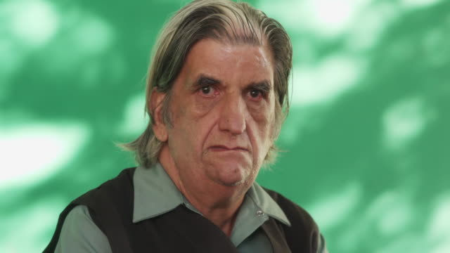 People Emotions Sad Worried Depressed Hispanic Man From Cuba video