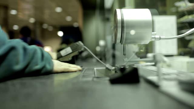 People Exchange Money with Teller video