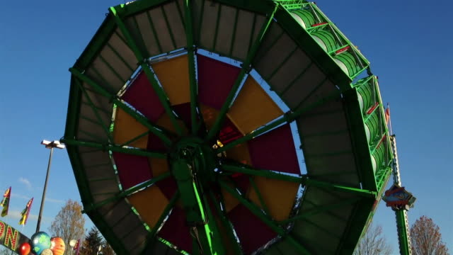 People having fun at the West Coast Amusements Carnival video
