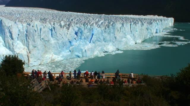 People looking at glacier HD II  icecap stock videos & royalty-free footage