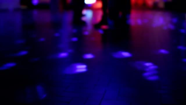 people on dancing floor video