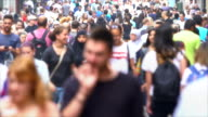 istock People on shopping street, time lapse 1127305703