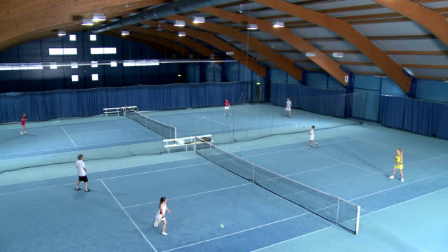 HA WS People Playing Mixed Doubles video
