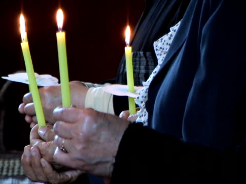 PAL: People praying (video) video