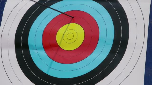 People shooting arrows, bow, archery, people, sport, target, bull's-eye video