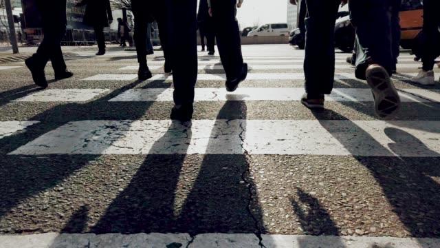 Menschen laufen – Video