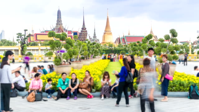 People was visited the royal crematorium of thailand king