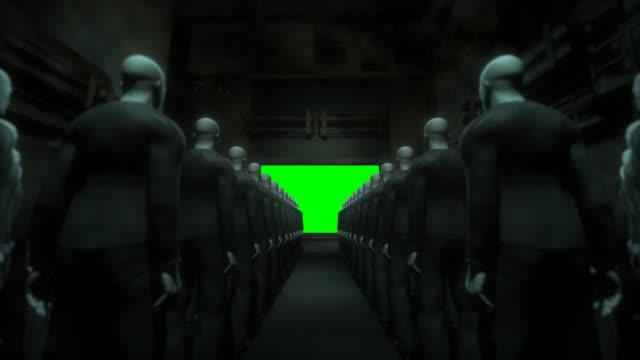 People Watching Screen (Keyable) video