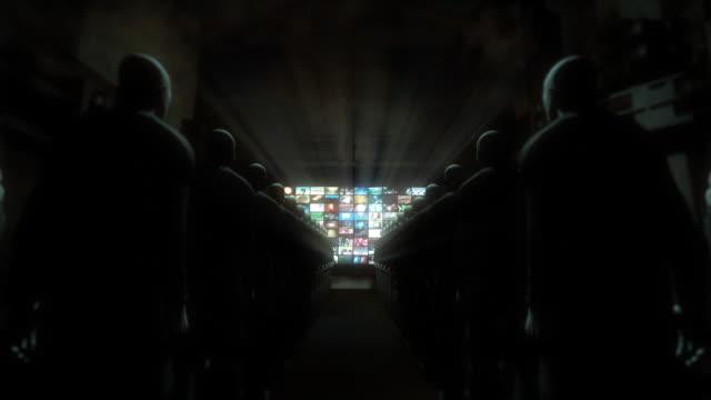 People Watching Videos (Zoom to Screen) video